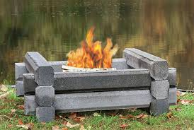 Firepit Logs Outdoor Fireplaces