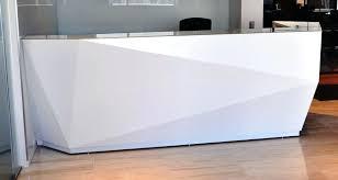 L Reception Desk Modern Reception Desk Stunning Modern White Reception Desk