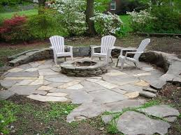 Flagstone Firepit Flagstone Pit Patio Diy Ideas