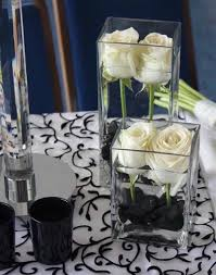 black and white centerpieces image result for http photos weddingbycolor nocookie