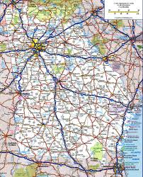 Interstate Map Of United States by Road Map Of Georgiafree Maps Of Us