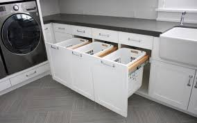 Bathroom Cabinet With Hamper Bathroom Cabinet With Built In Laundry Hamper Home Design Ideas