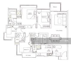 kovan melody floor plan kovan melody 13 kovan road 4 bedrooms 1421 sqft condominiums