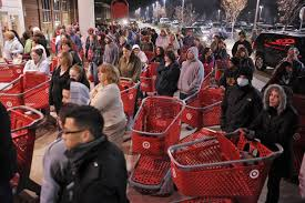 target in store black friday holiday shopping may not be merry target cuts temp staff nbc news