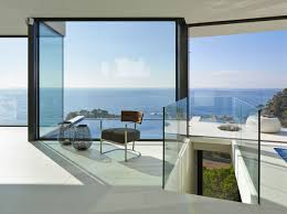 Coastal Home Interiors Modern Hillside Coastal Home In Spain With Magnificent Ocean View