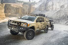 nissan frontier off road bumper wounded warrior project nissan titan ready for alaska adventure