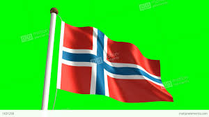 Flag Of Norway Norway Flag Stock Animation 1631298