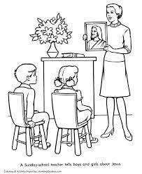 church coloring pages sunday lessons honkingdonkey