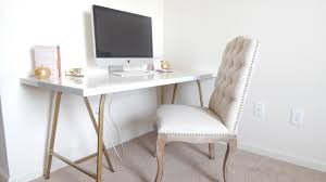 ikea student desk ikea desk hack beautiful gold desk under 100 youtube