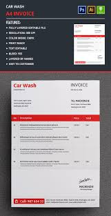 Car Wash Invoice Template by Car Wash Invoice Template Free Premium Templates