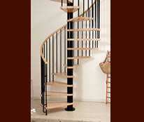 Wooden Spiral Stairs Design Custom Wood Stair Designs Layouts Curved Spiral Stairs