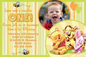 winnie the pooh birthday invitations templates u2013 bagvania free