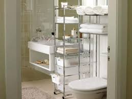 Bathroom Storage Containers Bathroom Storage Containers Beige Ceramic Floor White Waste Bin