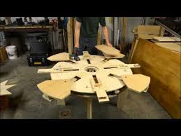 Expanding Tables Wooden Expanding Table Table Assembly Time Lapse Youtube Diy