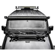 Led Vehicle Light Bar by Zroadz Z344813 Kit Jeep Wrangler Hood Mount 1 20