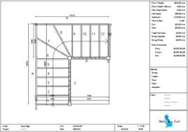 how to show stairs in a floor plan staircase plans choose your staircase design then phone us