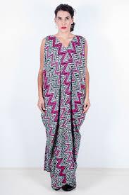 tribal dress tribal cocoon caftan dress pink multi mona lucero fashion
