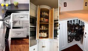 kitchen cabinet interior design fabulous hacks to utilize the space of corner kitchen cabinets