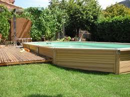 amenagement exterieur piscine piscine bois composite azteck magasin piscine zodiac