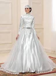 wedding dress for muslim gorgeous sleeve lace matte gown muslim wedding dress