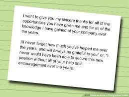 write a resignation letter resignation letter and letter sample
