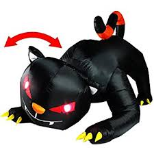 amazon com gemmy airblown inflatable 7 u0027 x 7 5 u0027 dragon with lights