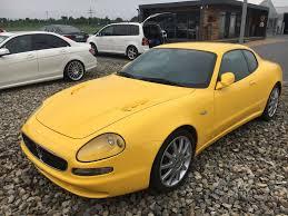 yellow maserati maserati 3200 gt limited kimbex dream cars
