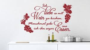 bilder für die küche wandtattoo für küchen küchendeko wall wandtattoo shop