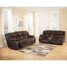 Microfiber Reclining Loveseat With Console Furniture Reclining Console Loveseat Leather Loveseat Recliners