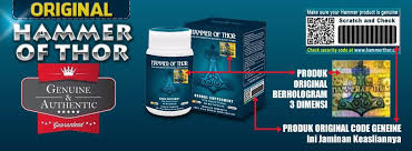 waspada obat hammer of thor bohong klg herbal