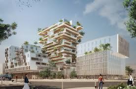 bureau logement tours jean paul viguier architecture projet hypérion tour de