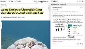 the new york times gt analysis of large sections of australia s great reef are now dead