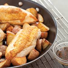 kitchn roast chicken pan roasted chicken with potatoes america u0027s test kitchen