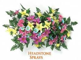 graveside flowers artificial flower arrangements for cemeteries