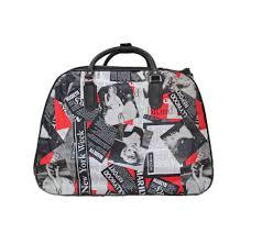 New York travel suitcase images New ladies magazine marilyn print travel luggage wheeled suitcase jpg