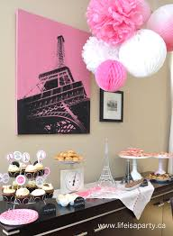 interior design best france themed party decorations