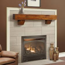duluth forge 60 inch fireplace shelf mantel with corbels antique