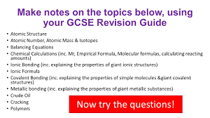 bridging the gap between gcse and a level chemistry you should use