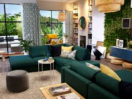 Green Living Rooms Image Result For Ikea Vimle Sofa Green Living Room Pinterest
