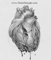 drawn hearts pencil art pencil and in color drawn hearts pencil art