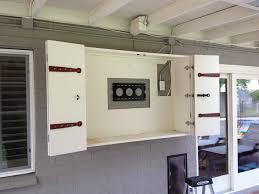 Tv Cabinet Doors Flat Screen Tv Armoire With Doors Door Design