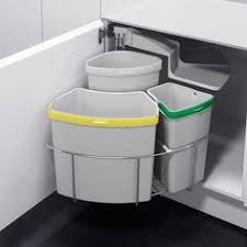 poubelle cuisine pivotante poubelle tri sélectif pivotante 3 bacs 39 litres