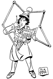 inspector gadget coloring pages inspector gadget coloring pages