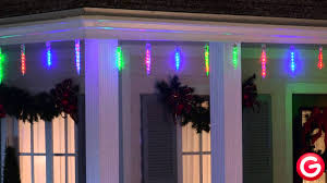 gemmy lightshow icicle lights with remote multi color