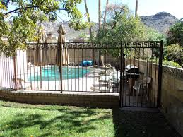 wrought iron fence for exterior design home design