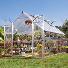 Harmony Silverline Greenhouse Palram 6ft X 4ft Silverline Harmony Greenhouse