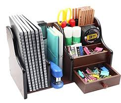 Desk Supplies For Office Pag Office Supplies Wood Desk Organizer Book Shelf