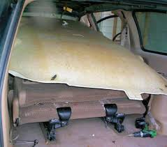 jeep headliner replacement 1999 plymouth voyager or dodge caravan headliner repair and