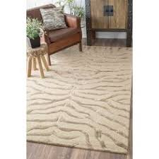 Brown Zebra Area Rug Safavieh Florida Shag Ivory Black 8 Ft 6 In X 12 Ft Area Rug