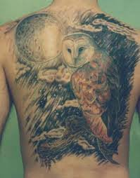 Owl Shoulder - owl tattoos designs ideas meanings and photos tatring